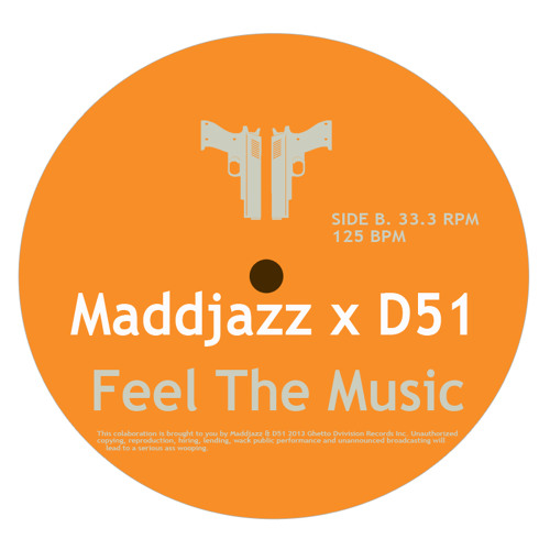 HOUSE | Maddjazz X D51 - Feel The Music