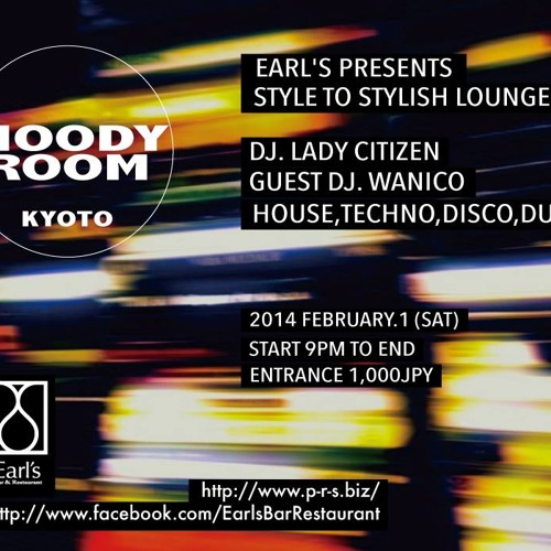 Moody Room Kyoto - 2014/02/01 Promo Mix(Free download)