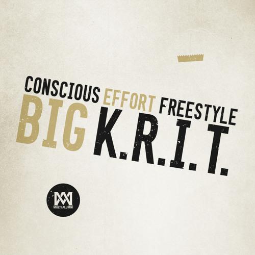 Big K.R.I.T. - Conscious Effort Freestyle - XXL Premiere