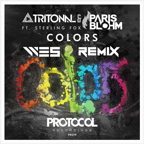 Tritonal & Paris Blohm feat. Sterling Fox - Colors (WE5 Remix)