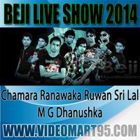 BEJI LIVE IN RIDEEGAMA 2014